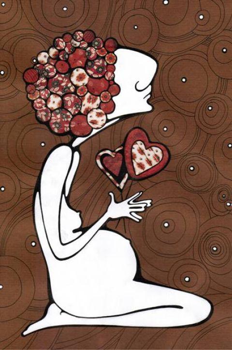 моя подруга-дизайнер вдохновилась моей беременностью