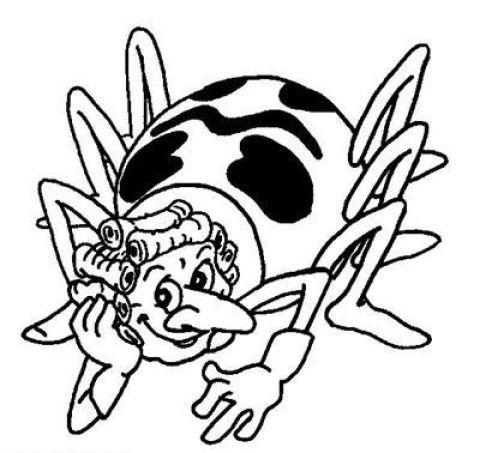 Раскараска «Пчелка Майя»
